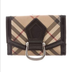 Burberry Nova Check Compact Wallet